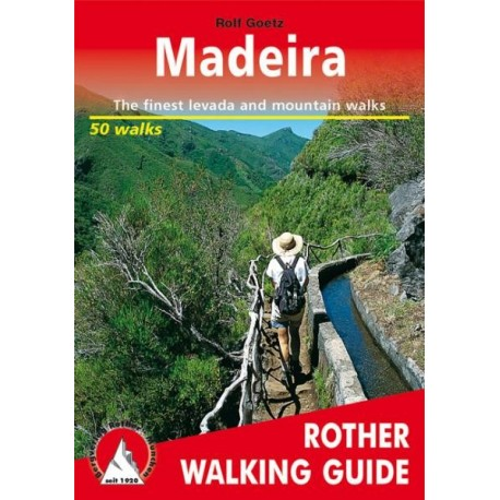 Achat Topo guide randonnées - Madeira - Rother (Anglais)