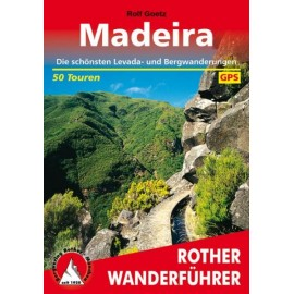 Achat Topo guide randonnées - Madeira - Rother édition (Allemand)