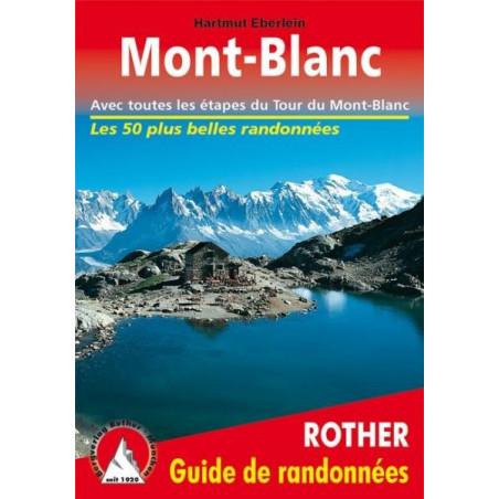 Achat Topo guide randonnées - Autour du Mont-Blanc - Rother