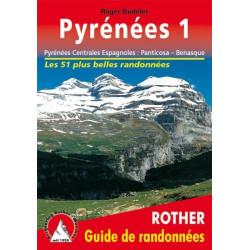 Achat Topo guide randonnées - Pyrénées Centrales Espagnoles: Panticosa – Benasque - Rother édition
