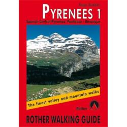 Achat Topo guide randonnées - Spanish Central Pyrenees: Panticosa – Benasque  - Rother édition