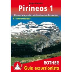 Achat Topo guide randonnées - Pirineos 1 - Pirineo aragonés - de Panticosa à Benasque - Rother édition