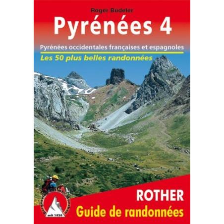 Achat Topo guide randonnées - Les Pyrénées occidentales espagnoles et françaises - Rother édition