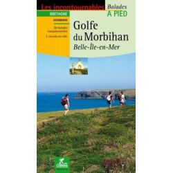 Achat Topo guide randonnées - Golfe du Morbihan,Belle île en mer - Chamina