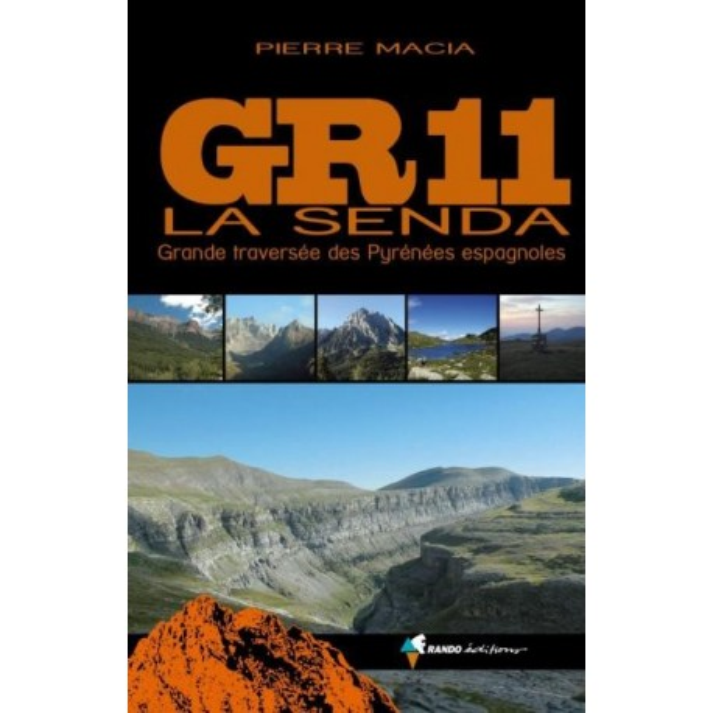 Achat Topo guide randonnées - GR 11 La Senda - Randoéditions