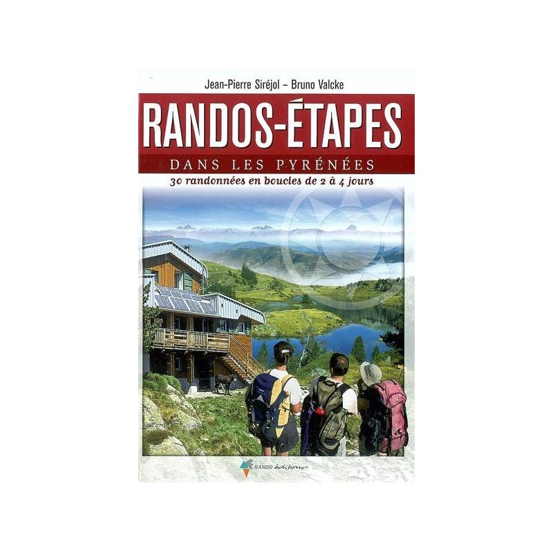 Achat Topo guide randonnées - Randos-Etapes dans les Pyrénées - Randoéditions