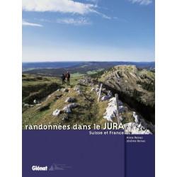 Achat Topo guide randonnées - Randonnées dans le Jura - Suisse et France - Glénat