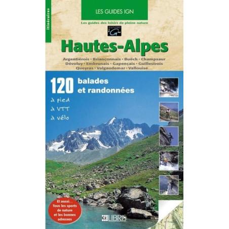 Achat Topo guide randonnées - Hautes-Alpes - Libris