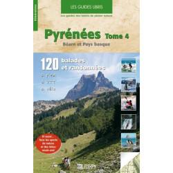 Achat Topo guide randonnées - Pyrénées - Tome 4, Béarn Pays basque - Glénat