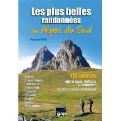 Achat Topo guide randonnées - Les plus belles randonnées des Alpes du Sud - Gap