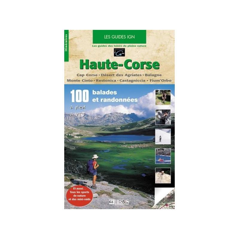 Achat Topo guide randonnées - Haute-Corse - Libris