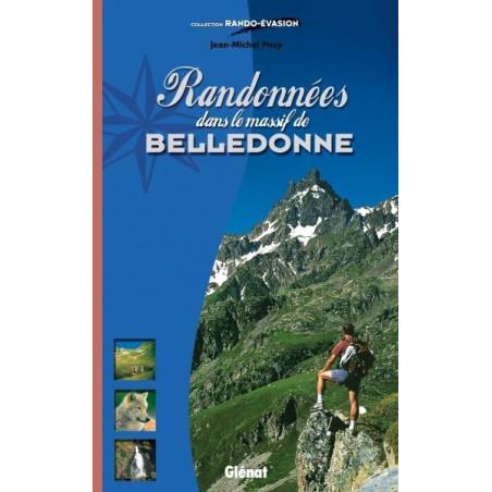 Achat Topo guide randonnées - Randonnées dans le massif de Belledonne - Glénat