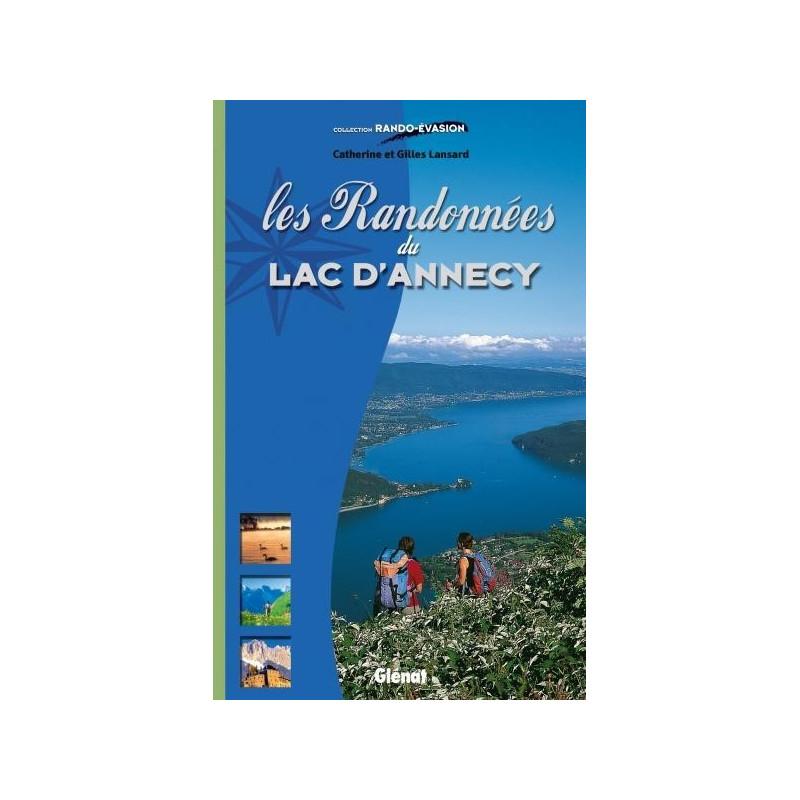 Achat Topo guide randonnées - Les Randonnées du lac d'Annecy - Glénat