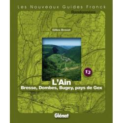 Achat Topo guide randonnées - L'Ain - Guides Franck