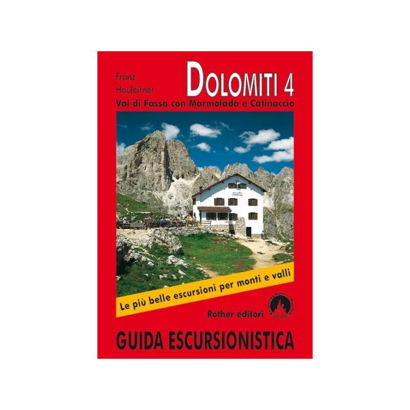 Achat Topo guide randonnées - Dolomites 4, Val di Fassa con Marmolada e Catinaccio - Rother