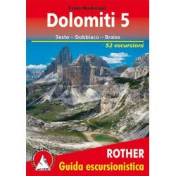 Achat Topo guide randonnées - Dolomites 5, Sesto,  Dobbiaco, Braies - Rother