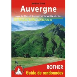 Auvergne, avec le Massif Central et la Vallée du Lot - Rother