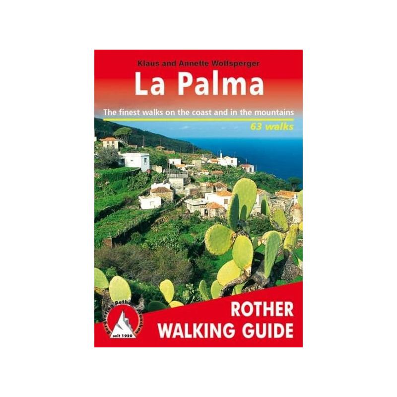 Achat Topo guide randonnées - La Palma - Rother