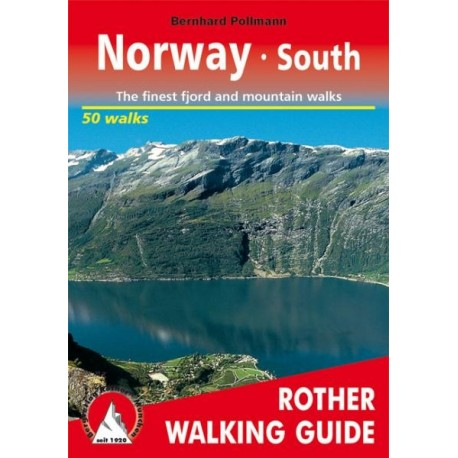 Achat Topo guide randonnées - Norvège sud - Rother