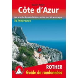 Achat Topo guide randonnées - Côte d'Azur - Rother