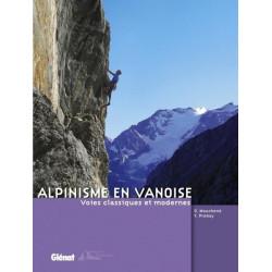 Achat Topo alpinisme - Alpinisme en Vanoise Voies classiques et modernes - Glénat