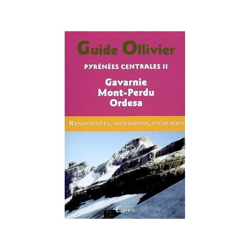 Achat  Topo alpinisme Guide Ollivier Pyrénées centrales - Tome 2, Gavarnie, Mont-Perdu, Ordesa - Cairn