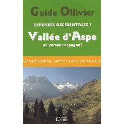Achat Topo alpinisme - Guide Ollivier Pyrénées occidentales - Vallée d'Aspe et versant espagnol - Cairn