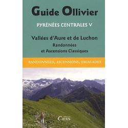Achat Topo escalade - Guide Ollivier Pyrénées centrales - Vallées d'Aure et de Luchon - Cairn