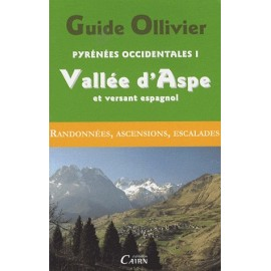 Achat Topo escalade - Guide Ollivier Pyrénées occidentales - Vallée d'Aspe et versant espagnol - Cairn