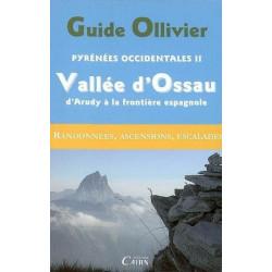 Achat Topo escalade - Guide Ollivier Pyrénées Occidentales Vallée d'Ossau, d'Arudy - Cairn