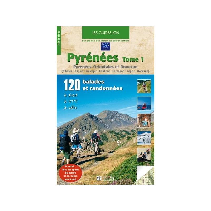 Achat Guide VTT - Pyrénées, tome 1, Pyrénées-Orientales et Donezan - Glénat
