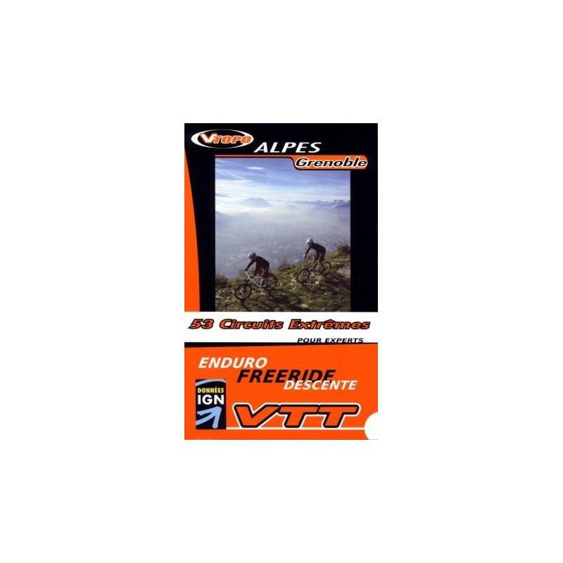 Achat Guide VTT Alpes Grenoble, 53 circuits extrêmes -  Vtopo