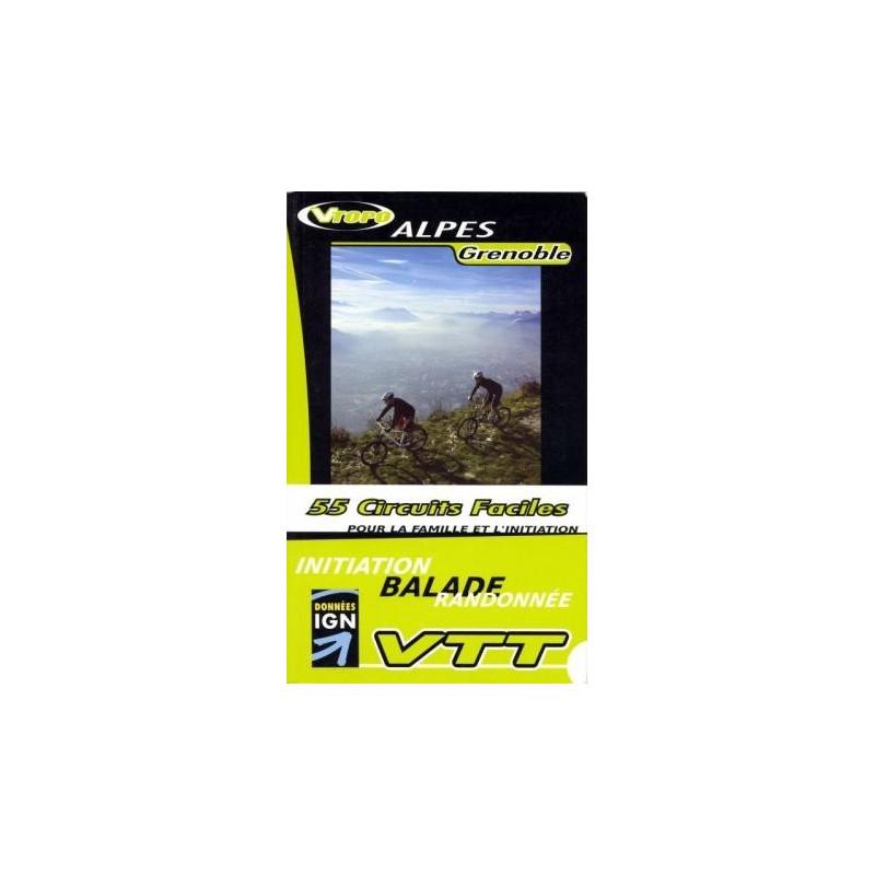 Achat Guide VTT Alpes Grenoble, 55 circuits faciles - Vtopo
