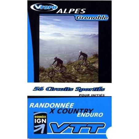 Achat Guide VTT Alpes Genoble, 56 circuits sportifs - Vtopo