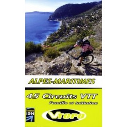 Achat Guide VTT Alpes-Maritimes famille et initiation - Vtopo