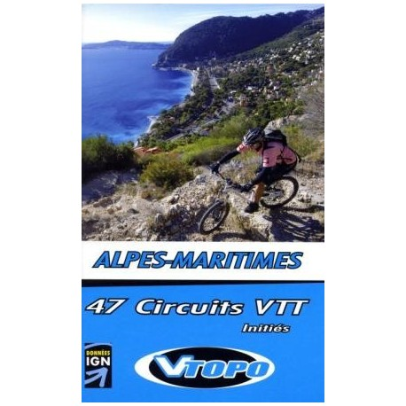Achat Guide VTT Alpes-Maritimes initiés - Vtopo