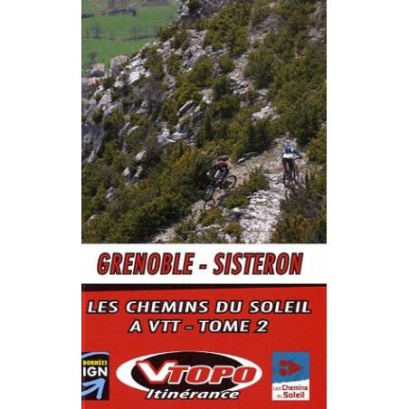 Achat Guide VTT Grenoble-Sisteron - Tome 2, Grande traversée des Préalpes - Vtopo