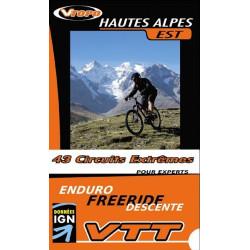 Achat Guide VTT Hautes Alpes Est, 51 circuits extrêmes - Vtopo