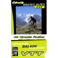 Achat Guide VTT Hautes Alpes Est , 48 Circuits faciles - Vtopo