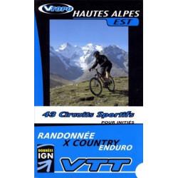 Achat Guide VTT Hautes Alpes Est, 43 circuits sportifs - Vtopo