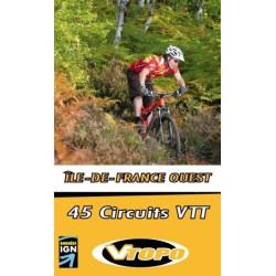 Achat Guide VTT - Ile-de-France Ouest , 45 circuits VTT - Vtopo