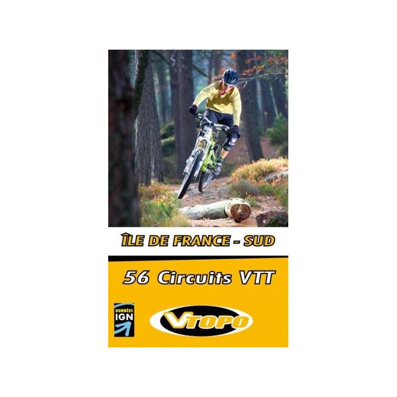Achat Guide VTT - Ile de France sud, 50 circuits VTT - Vtopo