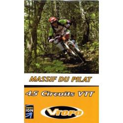 Achat Guide VTT - Massif du pilat, 45 circuits VTT- Vtopo