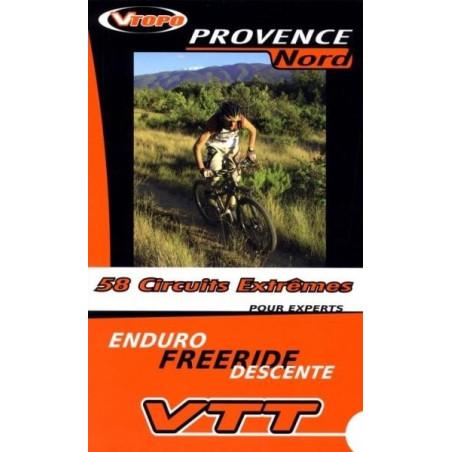 Achat Guide VTT Provence Nord, 58 circuits extrêmes - Vtopo