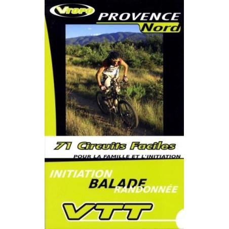 Achat Guide VTT  Provence Nord, 71 Circuits faciles - Vtopo