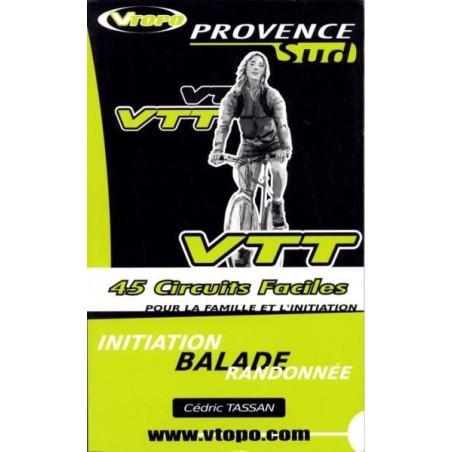 Achat Guide VTT Provence Sud, 45 Circuits faciles - Vtopo