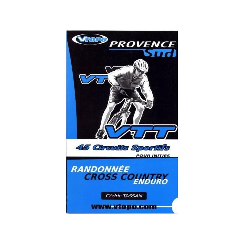 Achat Guide VTT Provence Sud, 45 circuits sportifs - Vtopo