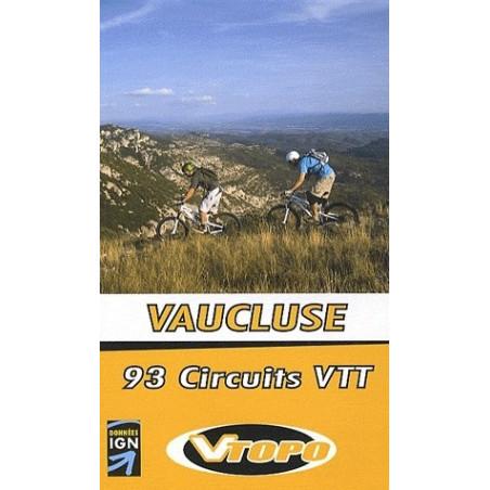 Achat Guide VTT Vaucluse, 93 circuits VTT - Vtopo