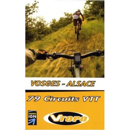 Achat Guide VTT - Vosges Alsace, 79 circuits VTT - Vtopo