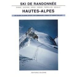 Achat Topo ski de Randonnée : Hautes-Alpes, Ecrins, Queyras, Arves, Cerces, Parpaillon, Dévoluy - Olizane